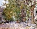 Elms, East Hampton, New York - Childe Hassam
