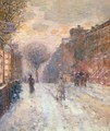 Early Evening, After Snowfall - Childe Hassam