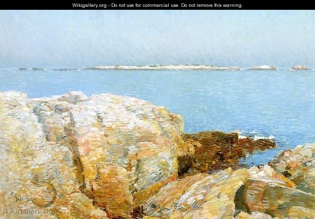 Duck Island - Childe Hassam