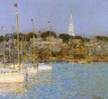 Cat Boats, Newport - Childe Hassam