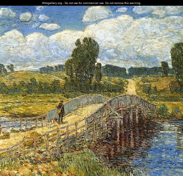 Bridge at Old Lyme - Childe Hassam