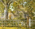 Old Mumford House, Easthampton - Childe Hassam