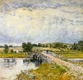 Old Lyme Bridge - Childe Hassam