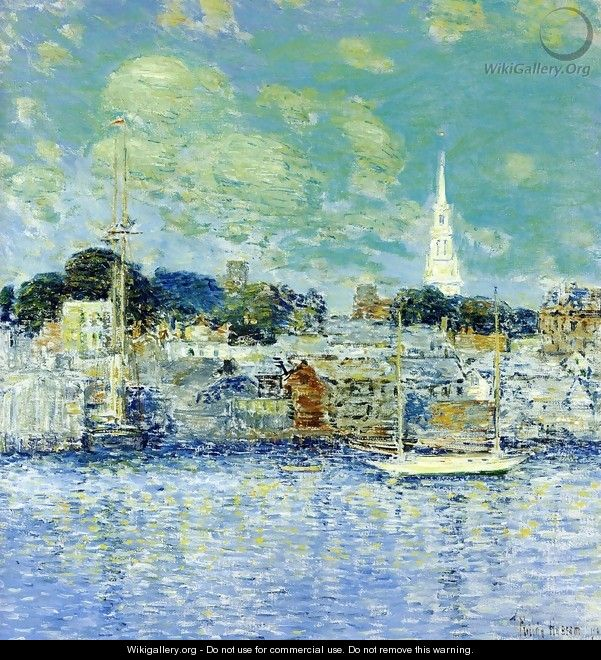 Newport Waterfront - Childe Hassam