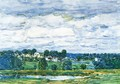 Newfields, New Hampshire - Childe Hassam