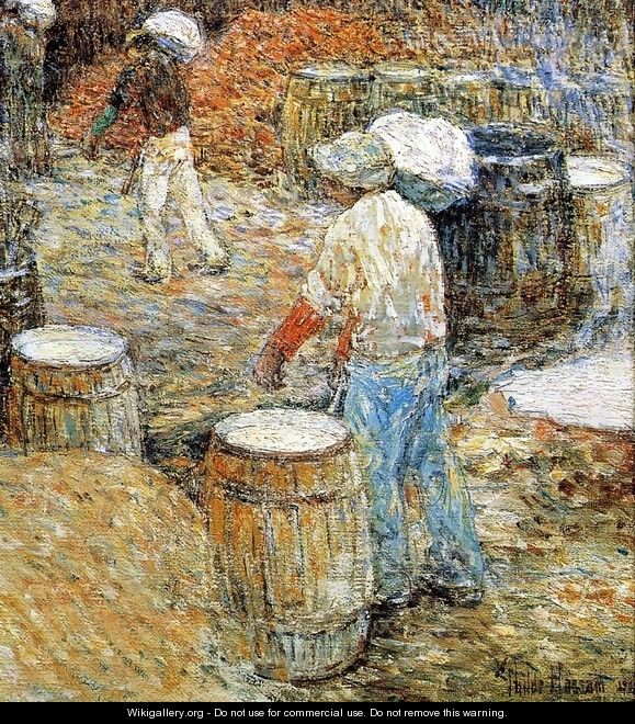 New York Hod Carriers - Childe Hassam
