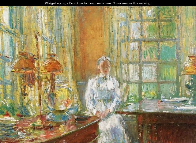 Mrs. Holley of Cos Cob, Connecticut - Childe Hassam