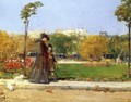 In the Park, Paris - Childe Hassam