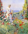 In the Garden - Childe Hassam