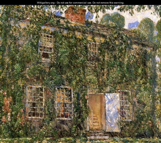 Home Sweet Home Cottage, East Hampton - Childe Hassam