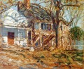The Brush House - Childe Hassam