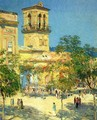 Street of the Great Captain, Cordoba - Childe Hassam