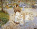 Spring in Central Park - Childe Hassam