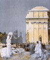 Scene at the World's Columbian Exposition, Chicago, Illinois - Childe Hassam