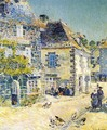 Pont-Aven, Noon Day - Childe Hassam