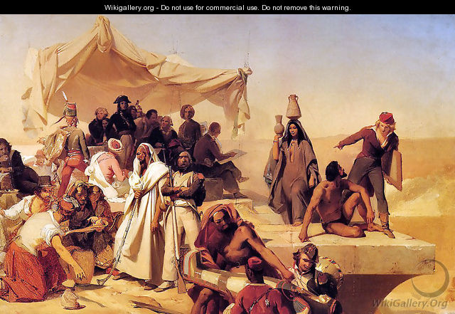 The Egyptian Expedition Under the Command of Bonaparte - Léon Cogniet