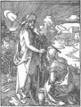 Small Passion, 31. Christ Appears to Mary Magdalene - Albrecht Durer