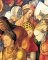 The Adoration of the Trinity (detail 4) - Albrecht Durer