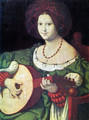 The Lute Player - Andrea Solari