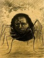 The Crying Spider - Odilon Redon
