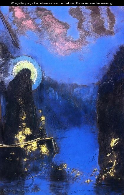 The Boat 3 - Odilon Redon