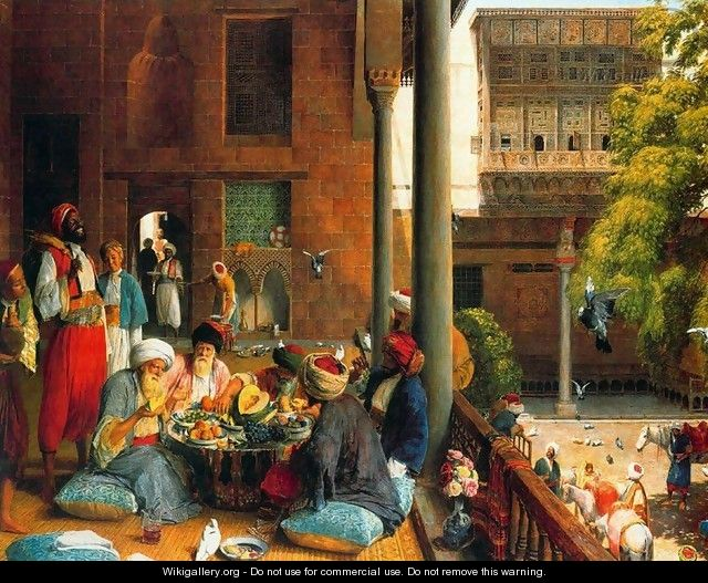 The Midday Meal, Cairo - John Frederick Lewis