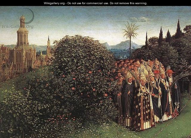 Portrait of Giovanni Arnolfini and his Wife (detail) 6 (2) - Jan Van Eyck