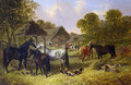 Farmyard Friends 2 - John Frederick Herring, Jnr.