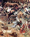The Triumph of Death (detail 6) - Pieter the Elder Bruegel