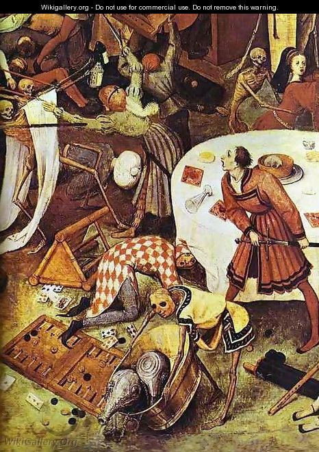 The Triumph of Death (detail 5) - Pieter the Elder Bruegel