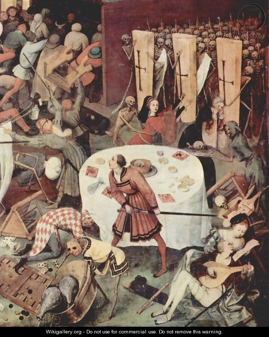 The Triumph of Death (detail 3) - Pieter the Elder Bruegel