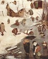 The Numbering at Bethlehem, Detail 1 - Pieter the Elder Bruegel