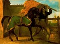 The horses race - Theodore Gericault