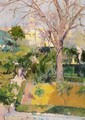 Gardens of the Alcazar in Seville - Joaquin Sorolla y Bastida