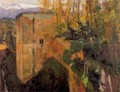 Tower of the Infantas, the Alhambra - Joaquin Sorolla y Bastida