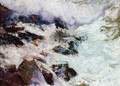 Sea and rocks (Javéa) - Joaquin Sorolla y Bastida