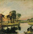 A View on the Stour - John Constable