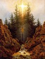 The Cross in the Forest - Caspar David Friedrich