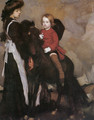 Equestrian Portrait of a Boy - George Lambert
