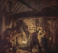 The forge - Joseph Wright