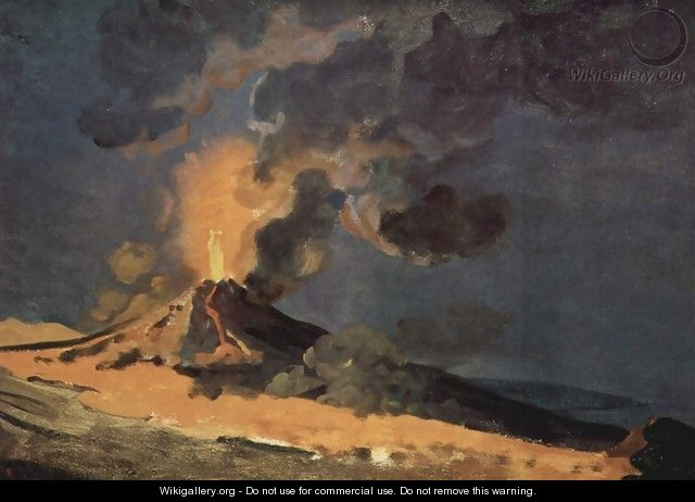Eruption of Vesuvius - Joseph Wright