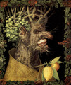 The Winter 4 - Giuseppe Arcimboldo