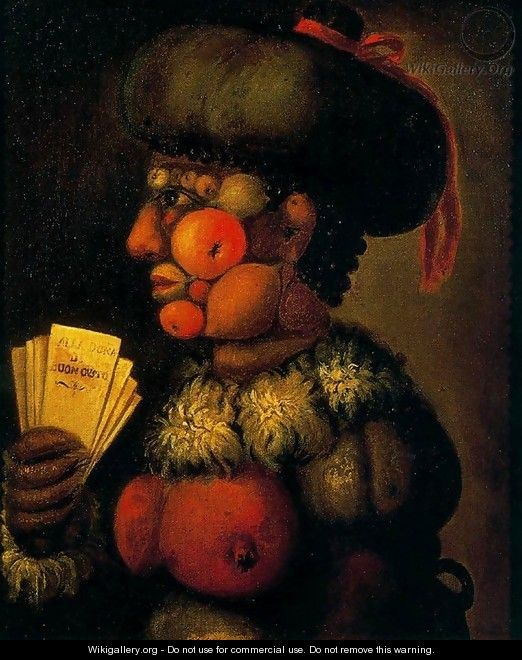 The Lady of Good Taste - Giuseppe Arcimboldo