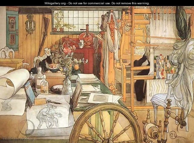 The Workshop - Carl Larsson