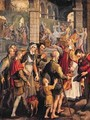 Scenes from the Life of an Unidentified Bishop Saint - Pieter Aertsen