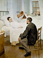Visiting Day at the Hospital - Henri-Jules-Jean Geoffroy (Geo)