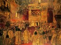 The Coronation of Nicholas II - Henri Gervex
