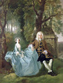 Mr and Mrs Carter of Bullingdon House - Thomas Gainsborough