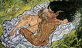 The Embrace (The Loving) - Egon Schiele