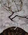 Small tree in late autumn - Egon Schiele